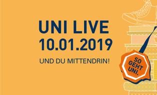 UniLive am 10.01.2019